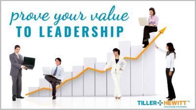 prove your value to leadership graphic